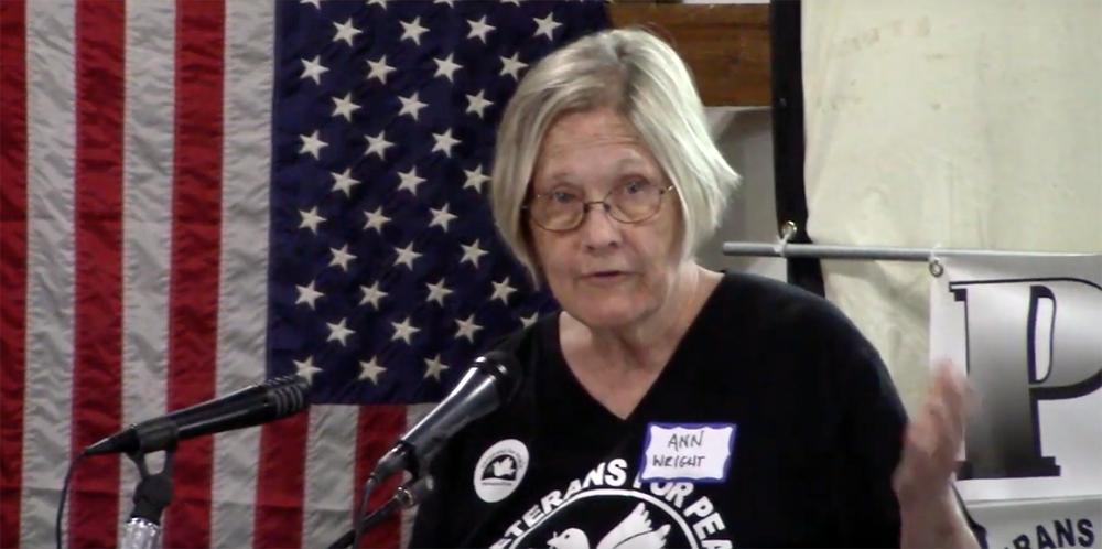 Peacestock 2019 video: Ann Wright